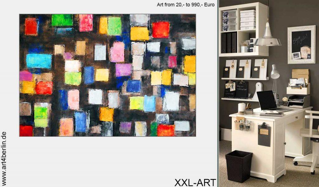 moderne kunst schoener wohnen 1024x602 - Junge Künstler zeigen ihr Talent