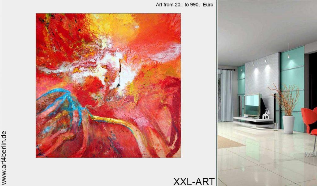 grosse acrylbilder junge kuenstler 1024x602 - Kunst und Malerei aus dem Webshop - Galerie Berlin OnlineSHOP