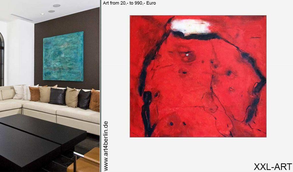 junge kunst xxl bilder preiswert 1024x602 - Große Bilder, handgemalte Berlin Kunst von €20, bis €990,-