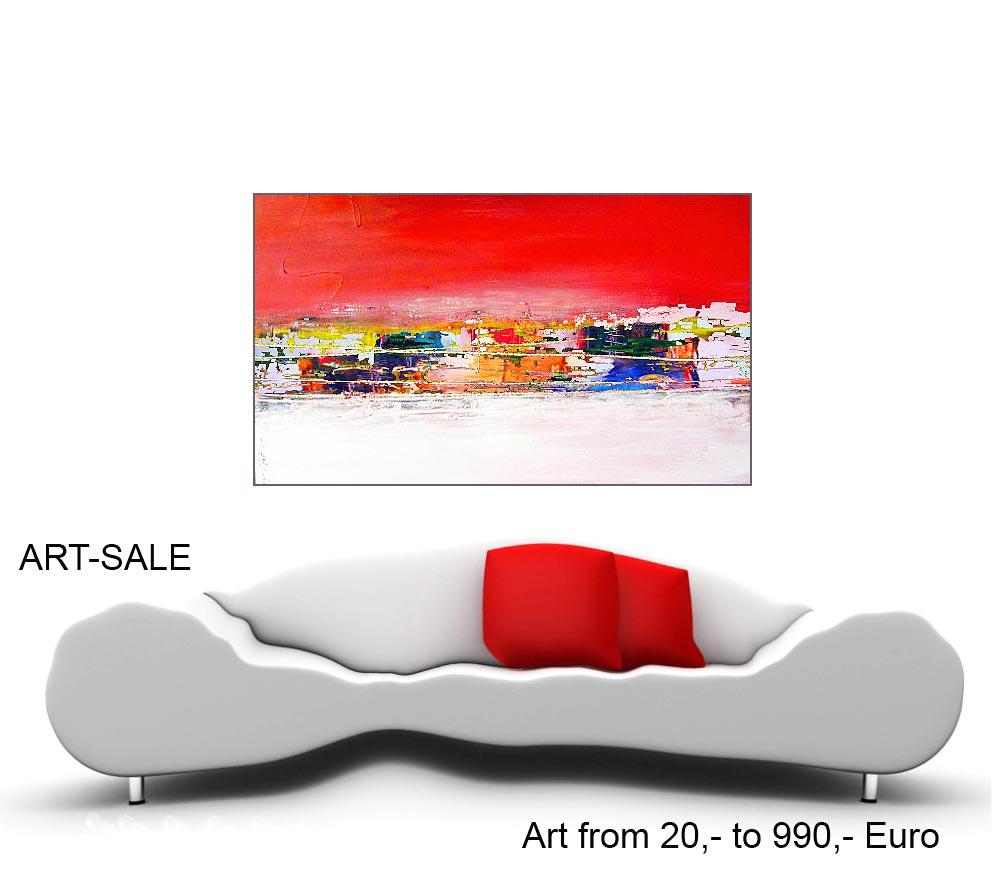 modern art kunst preiswert kaufen - Junge Berlin Kunst, großformatige Acrylmalerei preisWert kaufen