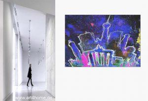 kunst bilder fuer wohnzimmer 300x206 - Schöner Wohnen mit XXL Kunst aus dem Internet-Shop