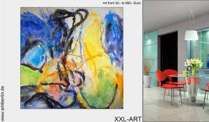 kunst junge kuenstler berlin 300x176 - Schöner Wohnen mit XXL Kunst aus dem Internet-Shop