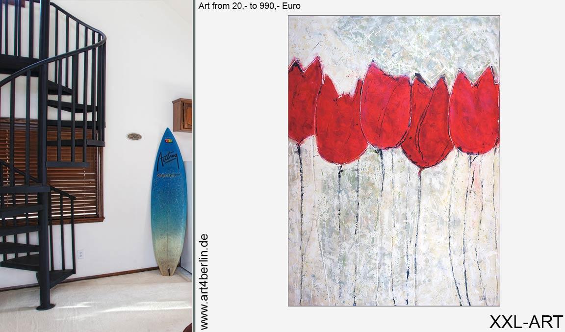 Bilder für Wohnzimmer | Junge Kunst preiswert kaufen