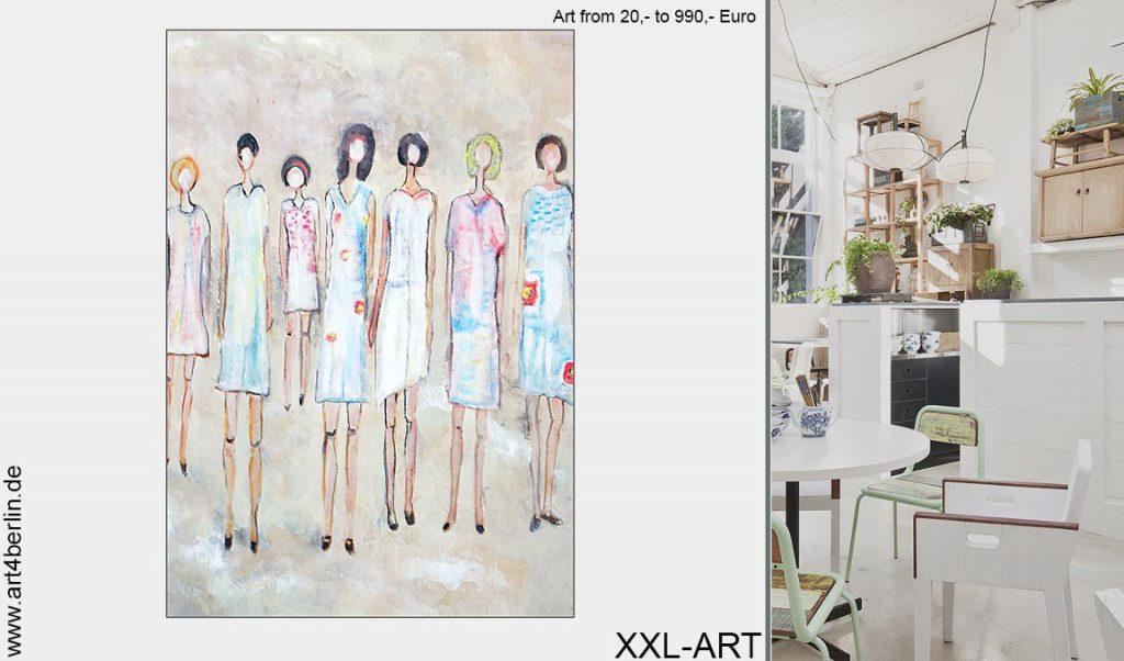 wohnzimmer xxl bilder kunst 1024x602 - Moderne Kunst fürs Wohnzimmer