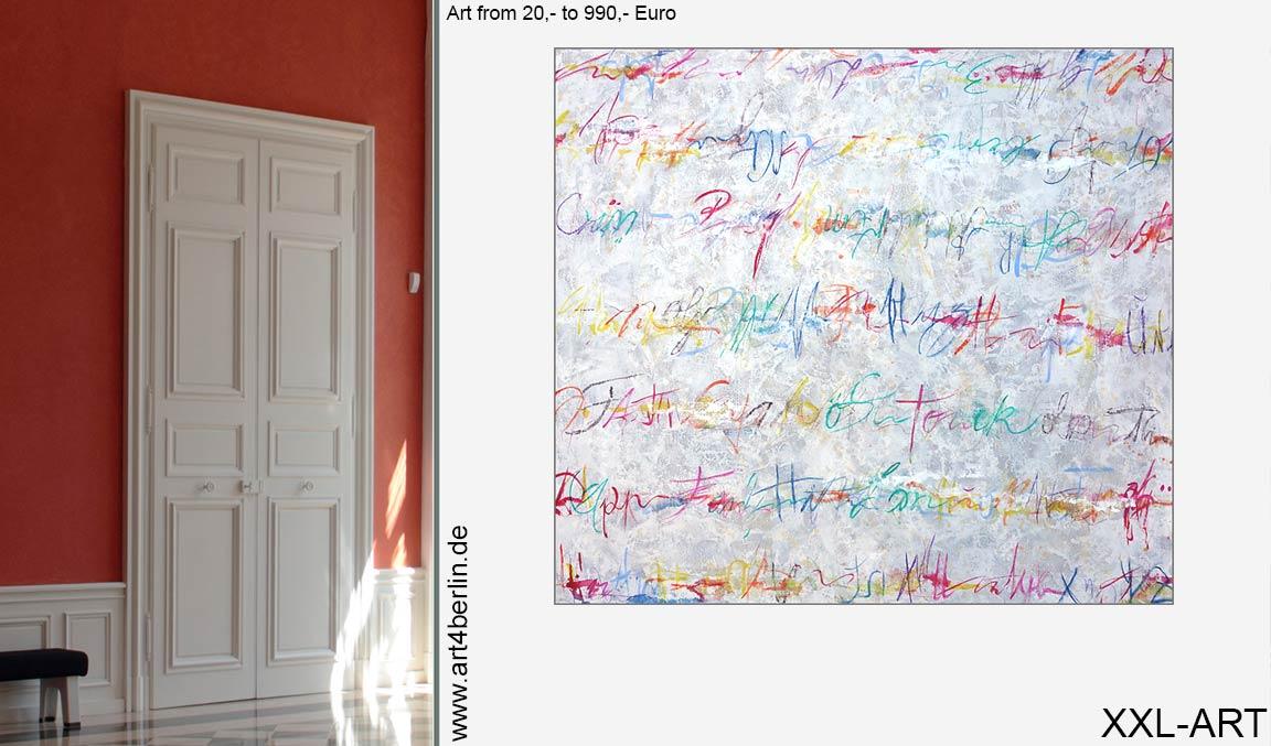 Wohnzimmer Kunst | Junge Kunst preiswert kaufen